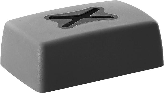 Homz Magnets, Gray Dryer Sheet Dispenser,