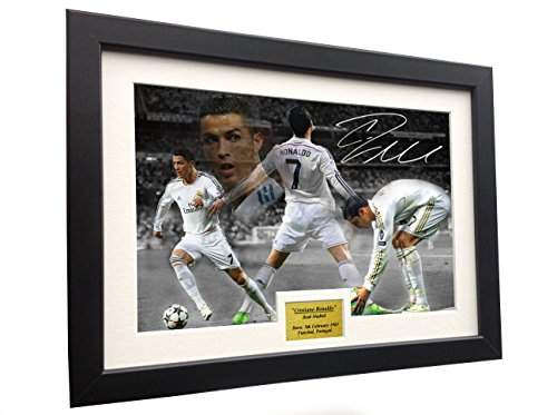Cristiano Ronaldo Poster (Cristiano Ronaldo 12x8 A4 Signed