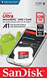 SanDisk Ultra 128GB microSDXC UHS-I card with