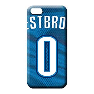iphone 6plus 6p Proof PC Back Covers Snap On Cases For phone mobile phone skins oklahoma city thunder nba basketball