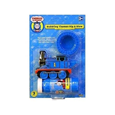 Imperial Toy - Bubbling Thomas Dip and Blow Bubble Blower: Toys & Games