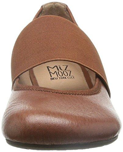 Miz Mooz Womens Delfina Balletto Whisky Piatto