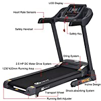 Goplus Folding Treadmill Electric Support Motorized Power Running Fitness Jogging Incline Machine from Superbuy