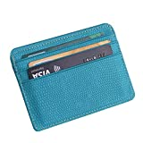 Fashion Women Lichee Pattern Bank Card Package Coin Bag Card Holder Travel Leather Men Wallets Women Credit Card Holder Cover,Gray