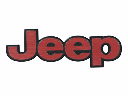 jti jeep logo 3d metal emblem badge 6 x 2 x 0 2 inch amazon in rh amazon in jeep logo font download jeep logo font download