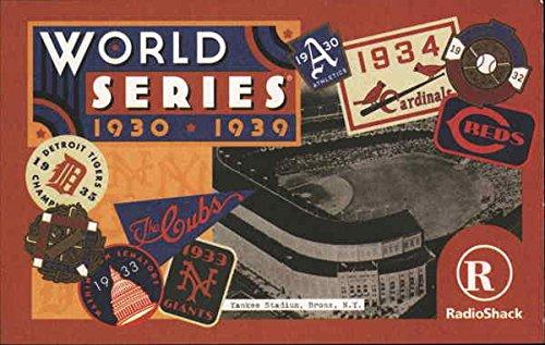 World Series 1930-1939 Baseball Original Vintage Postcard