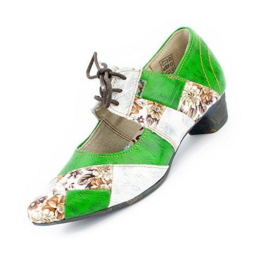 Chiuse Verde Mela Shoes 1844 Tma Scarpe Donna tvFng