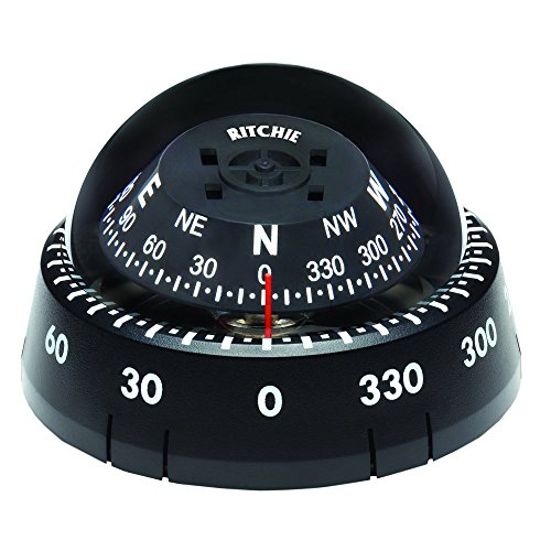 - Ritchie Compass Ritchie Xp-99 Kayaker Compass - Surface Mount - Black