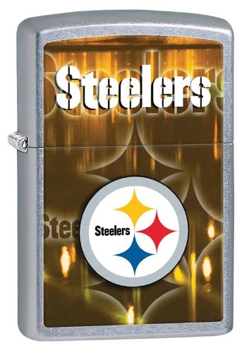 - Personalized Zippo Lighter NFL Pittsburgh Steelers - Free Engraving
