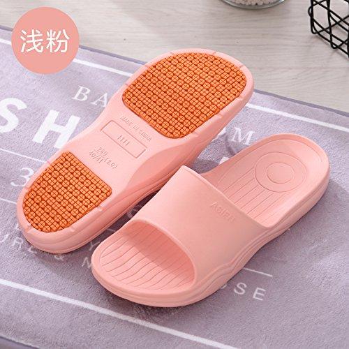 le coppie Rosa Fankou di donne 40 e uomini spesse nbsp;In anti estate bagno chiaro in scivolo raffreddare 260 pantofole anziani 39 gomma qtqrERIx
