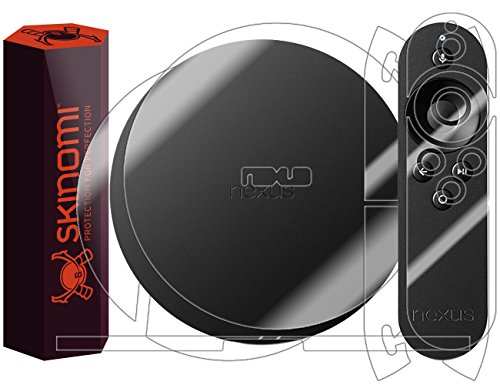 Google Nexus Player Screen Protector   Full Body, Skinomi TechSkin Full Coverage Skin   Screen Protector for Google Nexus Player Front