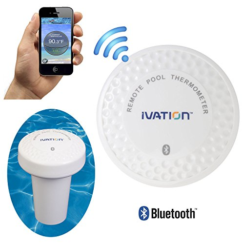 Ivation Bluetooth Water Thermometer Bathtub