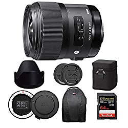 Image of the product Sigma 35mm f/14 DG HSM that is listed on the catalogue brand of Sigma.