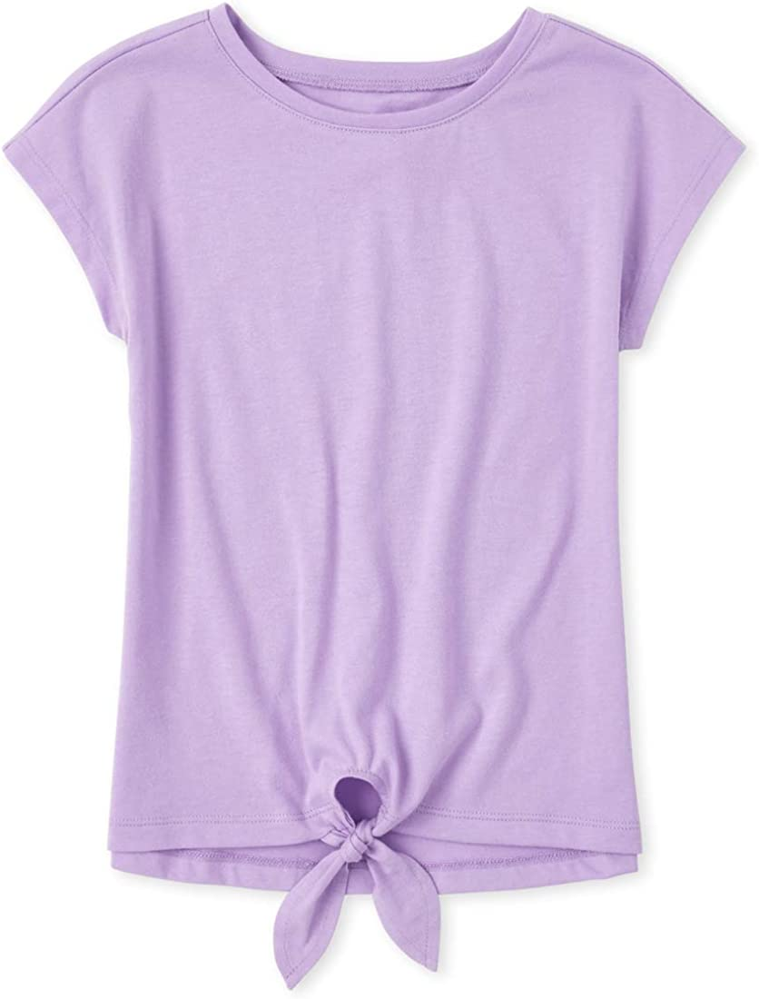 The Childrens Place Girls Basic Short Sleeve Shirt