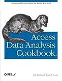 Access Data Analysis Cookbook, Ken Bluttman, Wayne S. Freeze, 0596101228