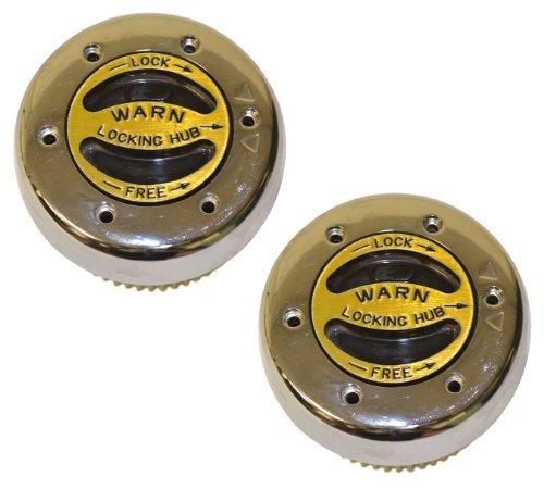 WARN 62672 Premium Manual Hubs (Best Dana 60 Locking Hubs)
