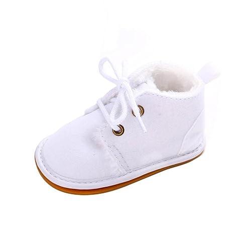 Suaves Zapatos De Cuero Del Bebé Muñeco de Nieve 0-6 meses 1FnWGX7B0