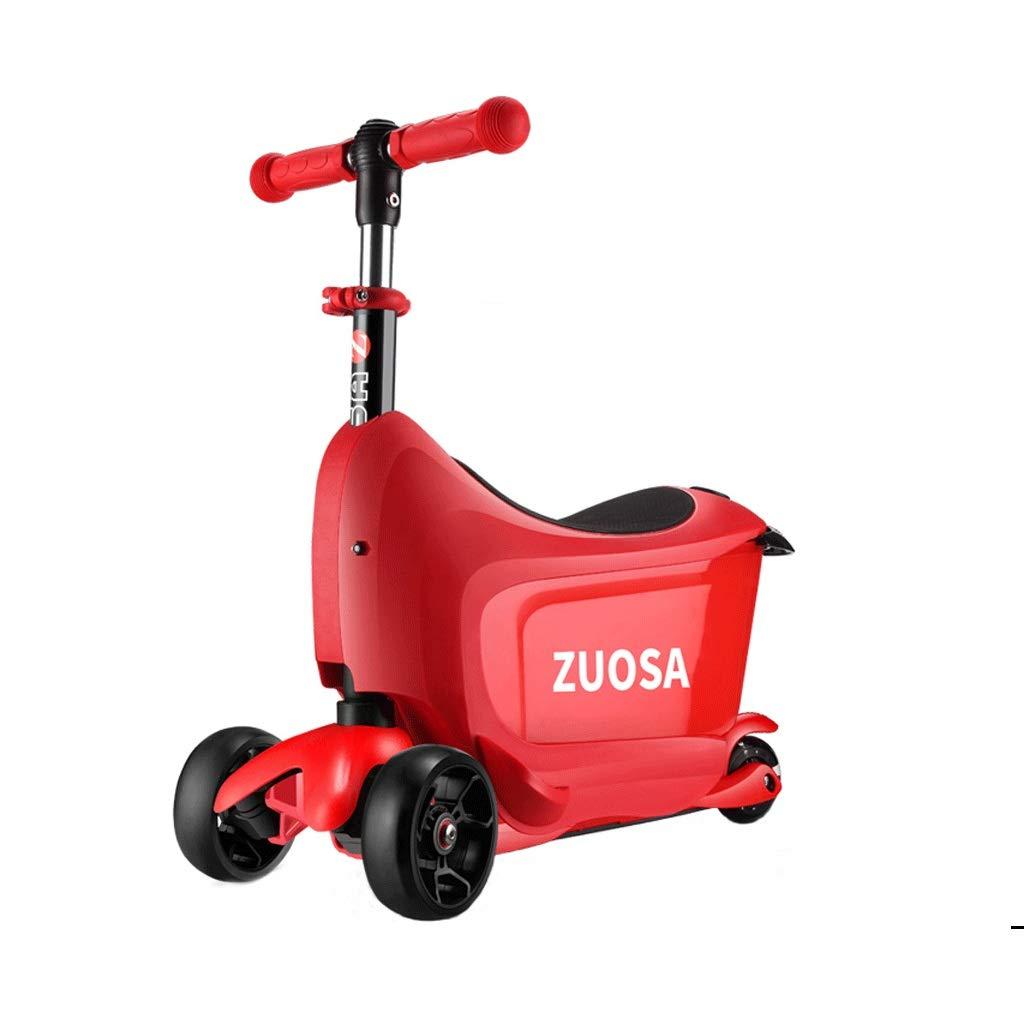 国産品 WangYi スケートボード- スクーター16歳の赤ん坊スクーター赤 (色 さいず : Red, サイズ 55x23x72cm : さいず : 55x23x72cm) B07NMFDNT3 Red 55x23x72cm, おしゃれリフォーム通販 せしゅる:40d2542f --- a0267596.xsph.ru