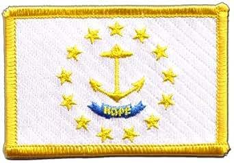 Digni Estados Unidos Rhode Island bandera parche