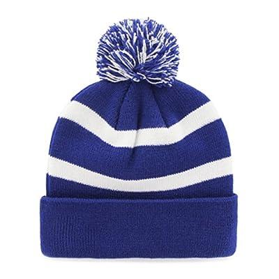 MLB '47 Brand Breakaway Striped Knit Hat with Pom