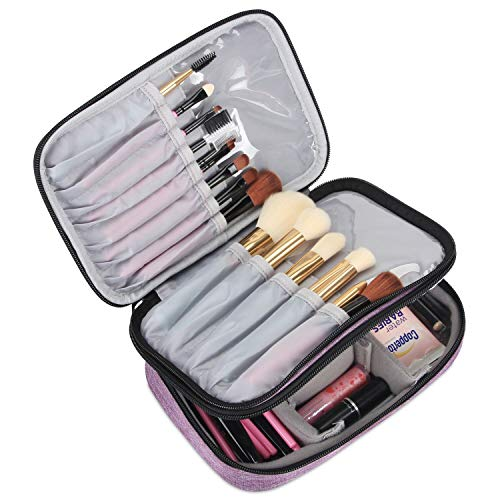Teamoy Travel Makeup Brush Case(up to 8.8
