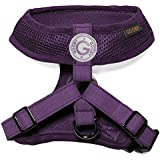 Choke Free Freedom Mesh Harness Specially Made for Small Dogs, Small, Purple