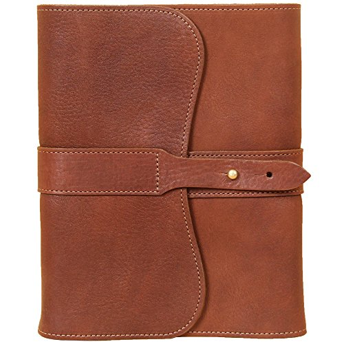 Leather Writing Journal Notebook Brown Refillable Ruled Pages USA Made No. 9 by Col. Littleton