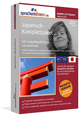 Sprachenlernen24.de Japanisch-Komplettpaket (Sprachkurs): DVD-ROM für Windows/Linux/Mac OS X inkl. integrierter Sprachausgabe mit über 5700 Vokabeln und Redewendungen.
