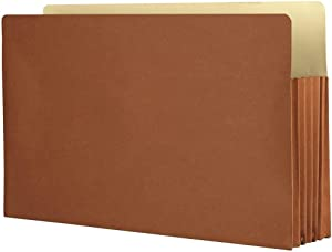 The File King Expanding Accordion File Folder   Legal Size   3.5