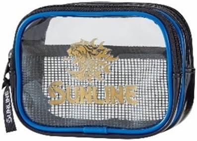 サンライン(SUNLINE) フィッシングポーチ ダブル SFP-0154 ブルー