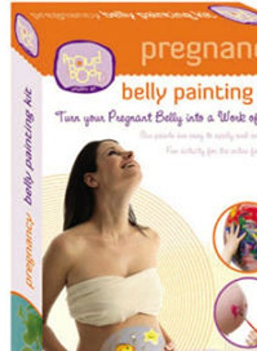 Pregnancy Belly Painting Kit - PREGNANCY BELLY PAINTING KIT - Painted Pregnant Bellies Body Face