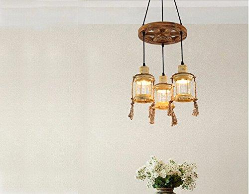 Lampadario In Legno Antico : Zq qx design per la casa e decorazione illuminazione lampadari