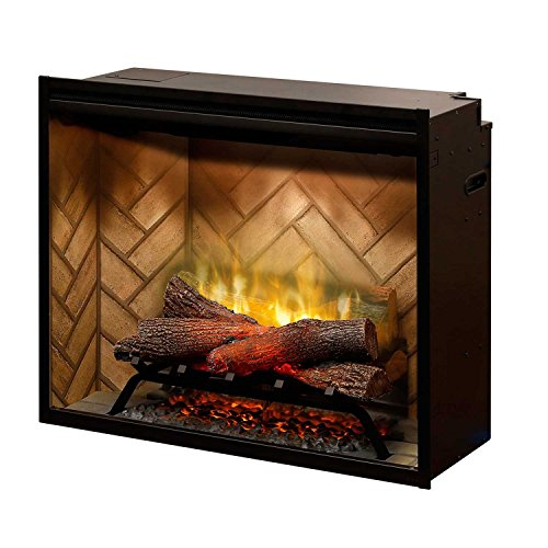 Outdoor See Through Fireplace (DIMPLEX NORTH AMERICA RBF30 Revillusion Electric Fireplace)