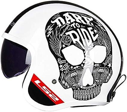 ///Matt Black2 X XXL MYSdd Jet Motorradhelm 3//4-Lkw-Lokomotive stylischer Helm mit eingebauter herunterziehbarer Sonnenschutzhaube und integriertem Bel/üftungssystem