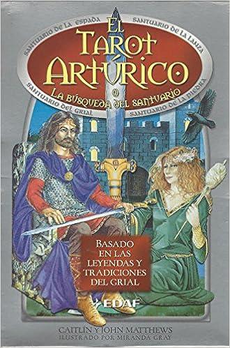 pack Tarot Arturico, El libro+baraja La Tabla De Esmeralda: Amazon.es: Matthews, Caitlin: Libros