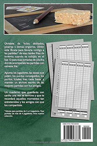 La Pocha. Libreta para partidas Apunta en una libreta hecha ...