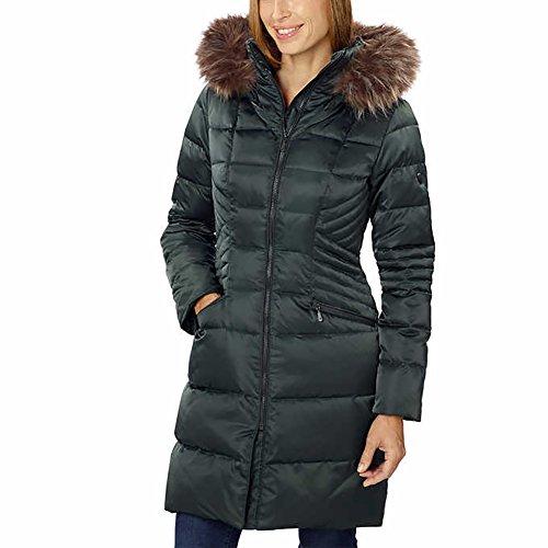 1 Madison Ladies' Hooded Down Walker Jacket - 1 Madison Park