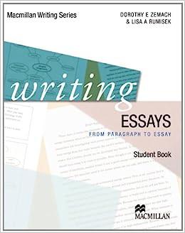 Amazon writing essays macmillan writing series macmillan