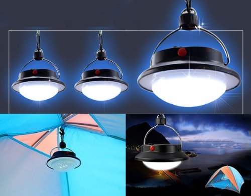 Surborder Shop 60 LED Portable Camping Tent Umbrella Night Light Lamp Lantern Outdoor Camping Hiking ¡­