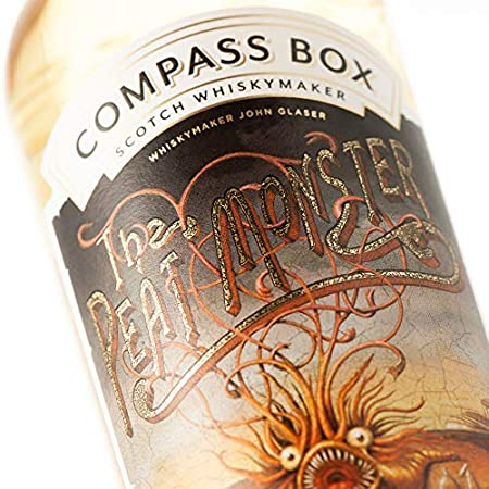 Compass Box THE PEAT MONSTER Blended Malt Scotch Whisky 46% - 700 ml in Giftbox