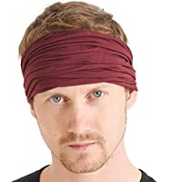 CHARM Casualbox | Mens Womens Headband Bandana Stretch...