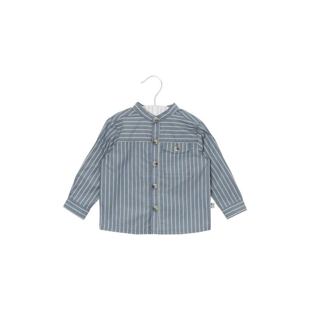 Wheat Shirt Axel, Danish Design Dusty Blue