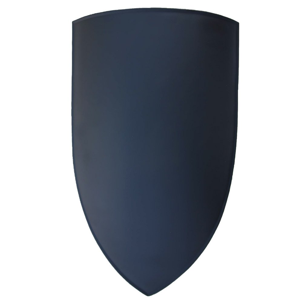 Armory Replicas Heater Canterbury Cathedral Medieval Shield Black by Armory Replicas (Image #1)