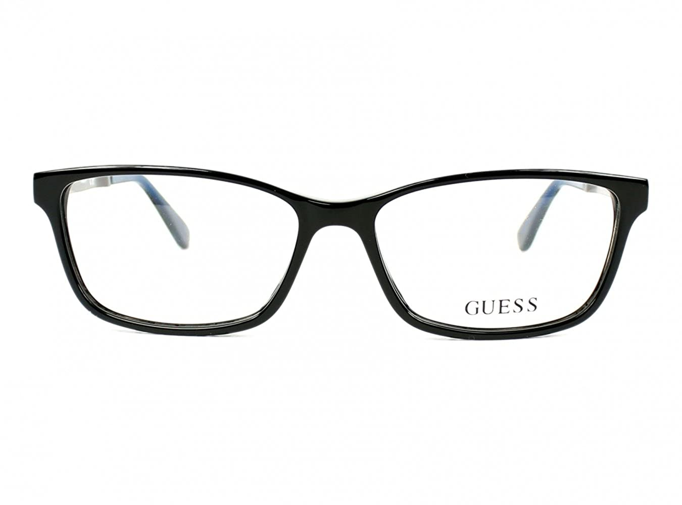 e2f62d6887 Eyeglasses Guess GU 2628 001 shiny black at Amazon Men s Clothing store