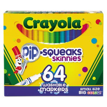Pip Squeaks Skinnies Washable Markers Colors
