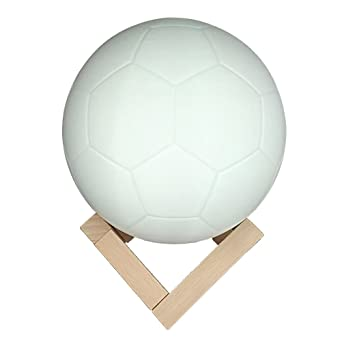 Ledmomo Led Fussball Lampe Illusion Usb Charge Touch Control