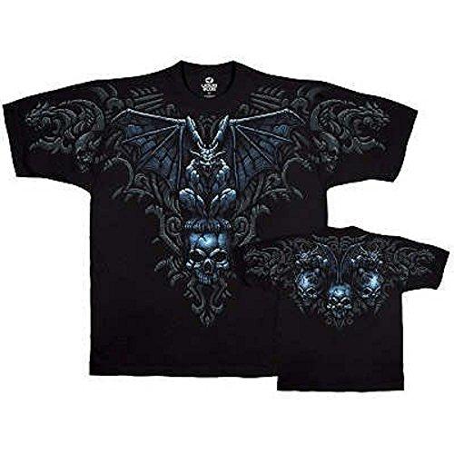 T-Shirt - Fantasy - Gargoyle Men's Black Size L