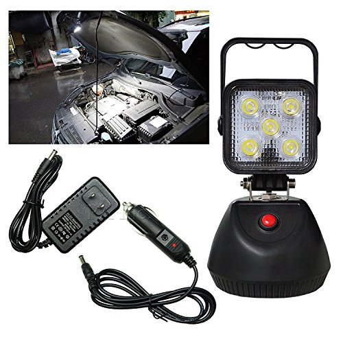 PA 1x LED Work 3 functions Portable Work Handheld Magnetic Set 15W Light High Lumen by PA