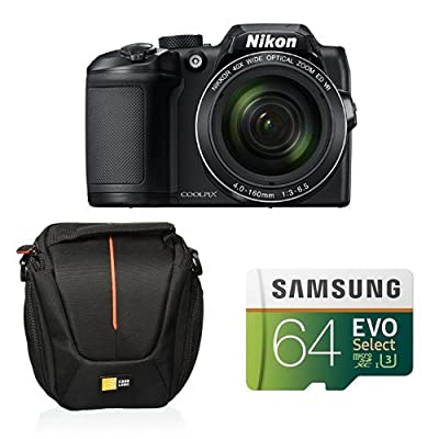 Nikon COOLPIX B500 Digital Camera (Black) from Nikon