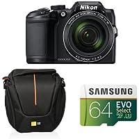 Nikon COOLPIX B500 Digital Camera (Black) Starter Bundle